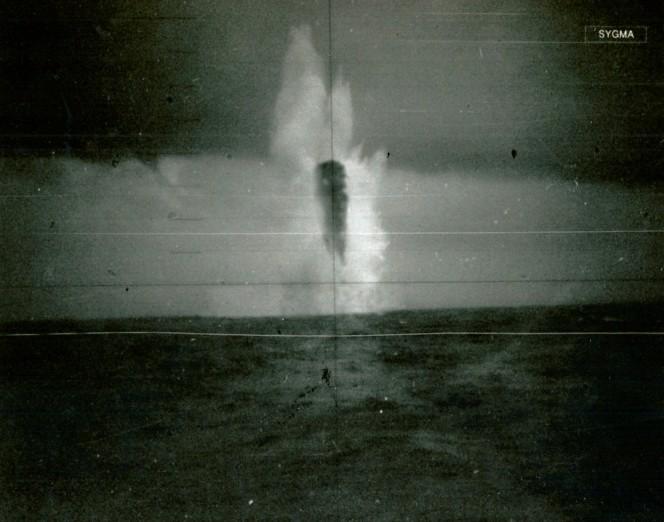 НЛО 1971 Северный ледовитый океан