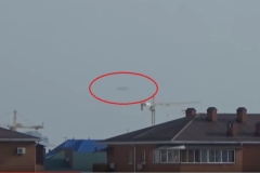 Краснодаре в районе улицы 9-я Тихая над крышами домов якобы появилось НЛО